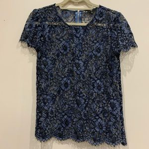 7 For All Mankind Lace tee